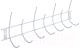 Вешалка для одежды ПТФ Лиана ВМ-127 (белый) -