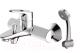 Комплект смесителей Bravat Drop-D F648162C-B + F148162C -