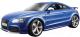 Масштабная модель автомобиля Bburago Ауди TT / 18-15052 (сборная) -