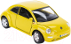 Масштабная модель автомобиля Bburago Фольксваген Нью Битл / 18-22029 -