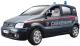 Масштабная модель автомобиля Bburago Секьюрити Фиат Панда / 18-22067 -