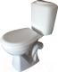 Унитаз напольный Керамин Вита Алкапласт (с полипропиленовым сиденьем) -