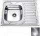 Мойка кухонная Frap F66080 -