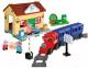 Конструктор BIG Железнодорожная станция Peppa Pig 800057079 -