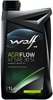 Моторное масло Wolf AgriFlow 4T SAE 30 / 1503/1 (1л) -
