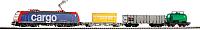 Железная дорога детская Piko Стартовый набор. Электровоз SBB BR 185 (57187) -
