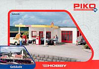 Элемент железной дороги Piko Бензоколонка Shell (61832) -