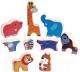 Развивающая игрушка PlayGo Пазл Сафари 1998 -