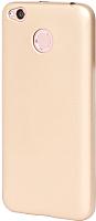 Чехол-бампер Case Deep Matte Xiaomi Redmi 4X (золото) -