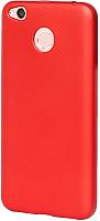Чехол-бампер Case Deep Matte Xiaomi Redmi 4X (красный) -