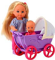 Кукла с аксессуарами Simba Эви с коляской 105736241 -