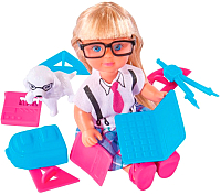 Кукла с аксессуарами Simba Эви и школьные принадлежности 105736330 -