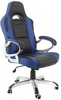 Кресло офисное Calviano Alfa-Racer (черно-синий) -