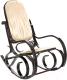 Кресло-качалка Calviano Relax M191 (бежевый) -