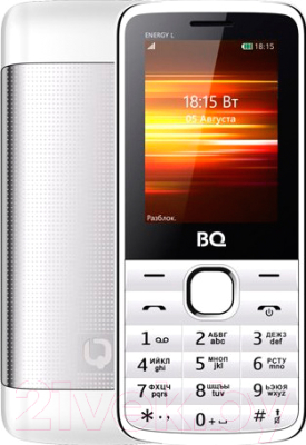 Мобильный телефон BQ Energy L BQ-2426 (белый)