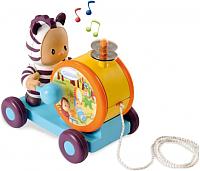 Развивающая игрушка Smoby Каталка-тамбурин 211191 -