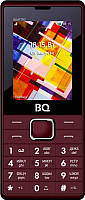 Мобильный телефон BQ Quattro BQ-2412 (темно-красный) -
