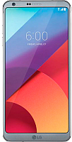 Смартфон LG G6 Dual Sim / H870DS (ледяная платина) -