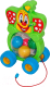 Развивающая игрушка Полесье Бимбосфера Клоун / 54425 -