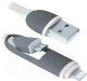 Кабель USB Defender USB10-03BP / 87493 (белый) -