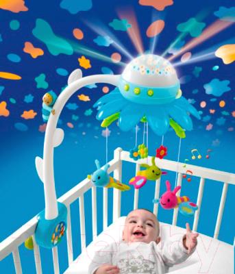 Карусельки в кроватку для новорожденных