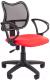 Кресло офисное Chairman 450 LT (С-02/красный) -