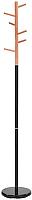 Вешалка для одежды Signal Dimos (черный / бук) -