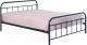 Односпальная кровать Halmar Linda 90x200 (черный) -