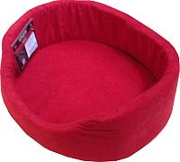 Лежанка для животных Ami Play Tuzik 7563239821 (S, красный) -