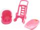 Аксессуар для куклы Полесье Pink Line 3x1 / 42842 -