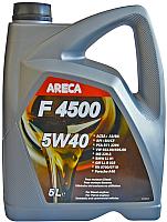 Моторное масло Areca F4500 5W40 / 11456 (4л) -