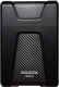 Внешний жесткий диск A-data DashDrive Durable HD650 2TB Black (AHD650-2TU31-CBK) -