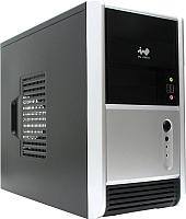 Корпус для компьютера In Win EMR-006 (черный/серебристый) -