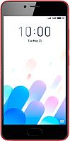 Смартфон Meizu M5c 16Gb / M710H (красный) -