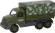 Детская игрушка Полесье Автомобиль бортовой тентовый военный Сталкер / 49193 -