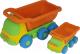Набор игрушечных автомобилей Полесье Самосвал Кеша с самосвалом Яша / 4281 -