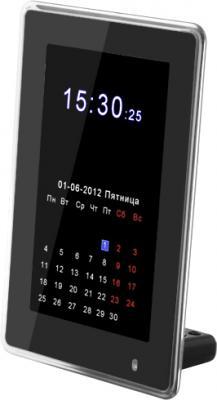 Цифровая фоторамка TeXet TF-602 Black - общий вид