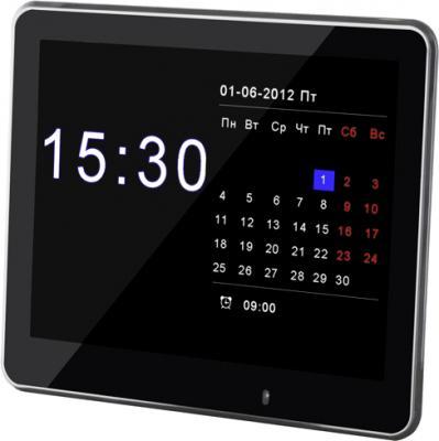 Цифровая фоторамка TeXet TF-802 Black - общий вид
