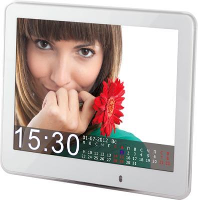 Цифровая фоторамка TeXet TF-802 White - общий вид