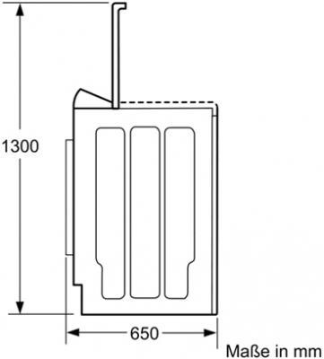 Стиральная машина Bosch WOR16154OE - схема
