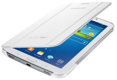 Чехол для планшета Samsung EF-BT210BWEGRU White - с планшетом