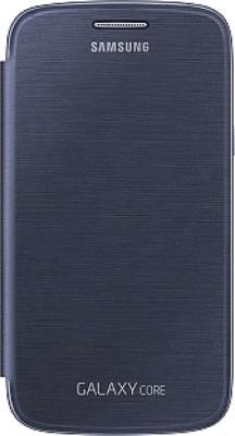 Чехол-флип для Samsung I8262 Samsung EF-FI826BLEGRU Blue - общий вид