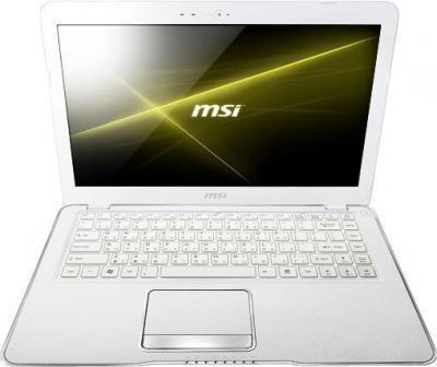 Ноутбук MSI X370-600XBY E2-1800 - фронтальный вид