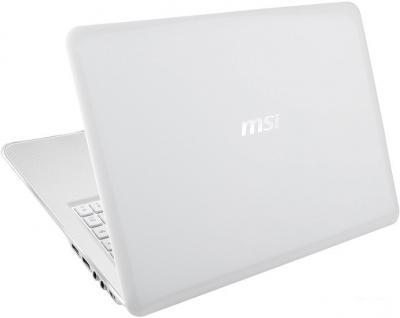 Ноутбук MSI X370-600XBY E2-1800 - вид сзади