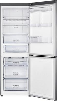 Холодильник с морозильником Samsung RB32FERNCSS/RS - с открытой дверью
