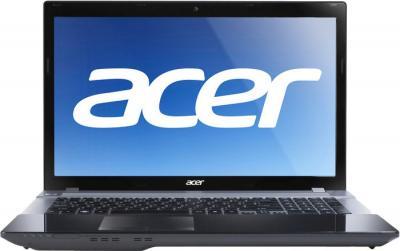 Ноутбук Acer Aspire V3-771G-33126G75Makk (NX.M6QEU.006) - фронтальный вид