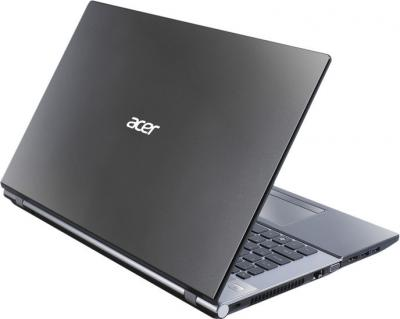 Ноутбук Acer Aspire V3-771G-33126G75Makk (NX.M6QEU.006) - вид сзади