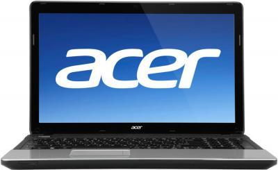 Ноутбук Acer Aspire E1-571G-53236G1TMnks (NX.M7CEU.022) - фронтальный вид