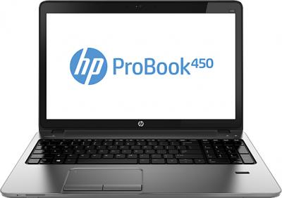 Ноутбук HP ProBook 450 G0 (H0V91EA) - фронтальный вид