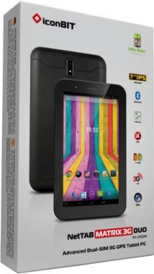 Планшет IconBIT NetTAB Matrix 3G Duo (NT-3702M) - вид коробки